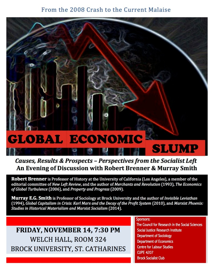 Global Economic Slump Poster copy 2